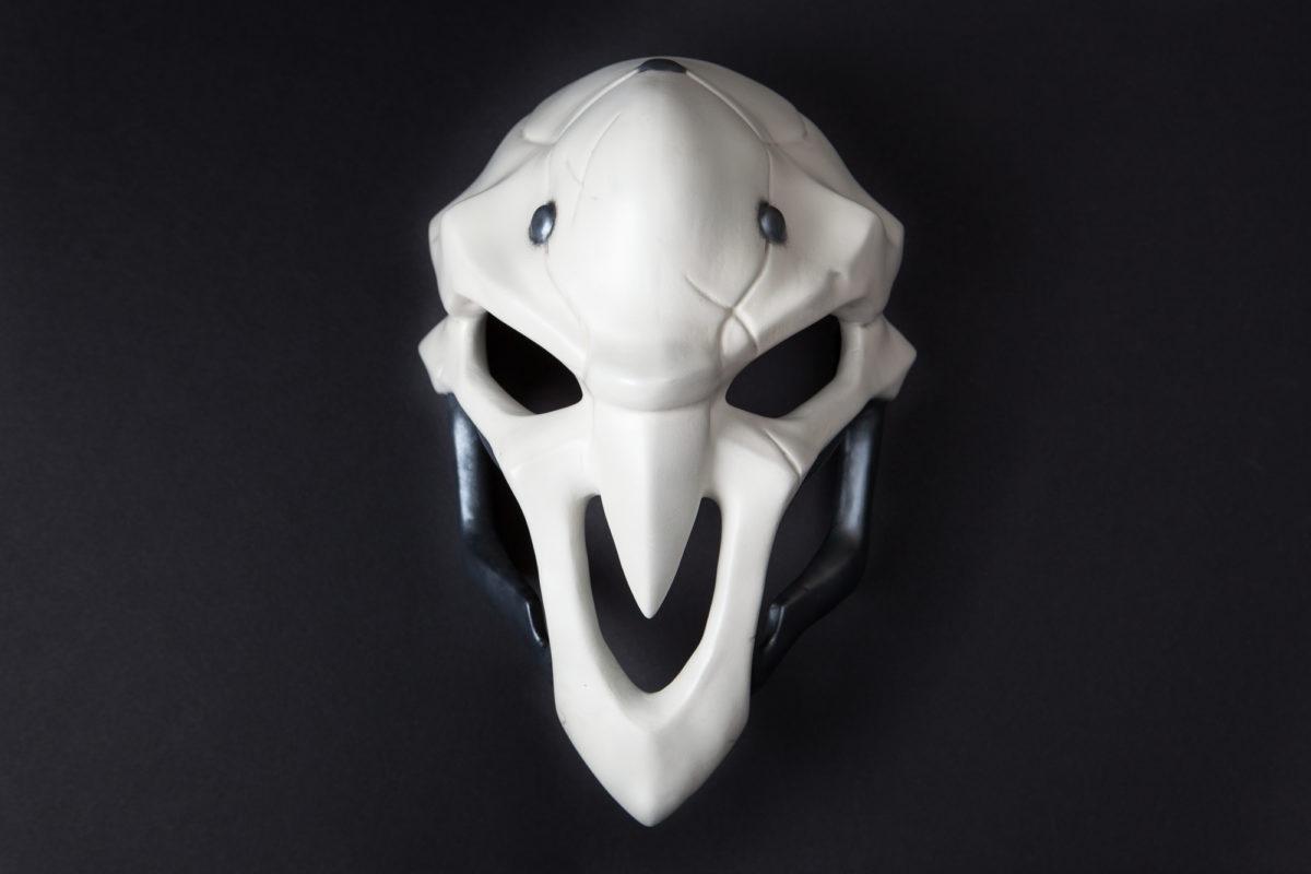 Happy Halloween 2016!  Building Reaper's mask from Overwatch