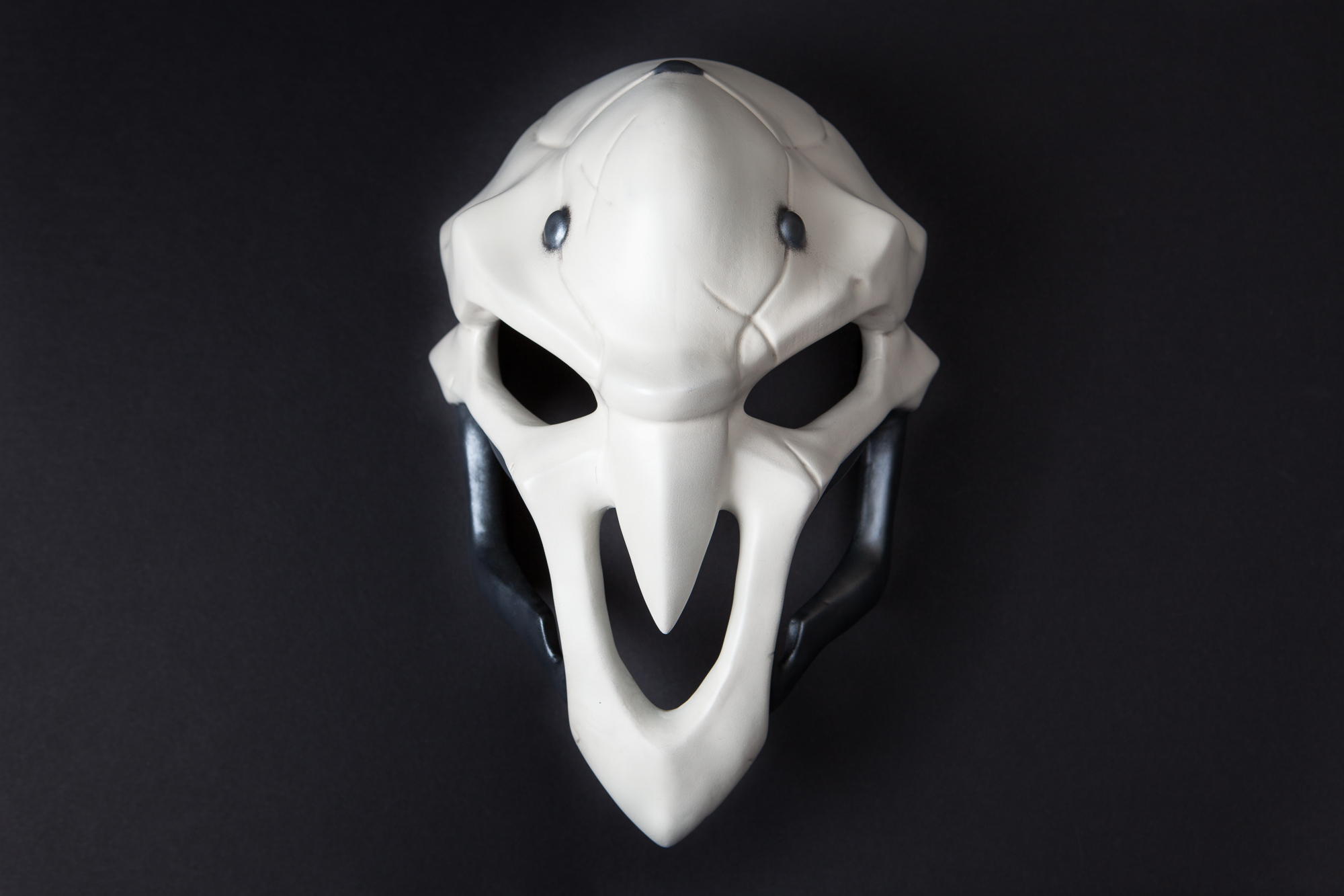 Happy Halloween 2016!  Building Reaper's mask from Overwatch