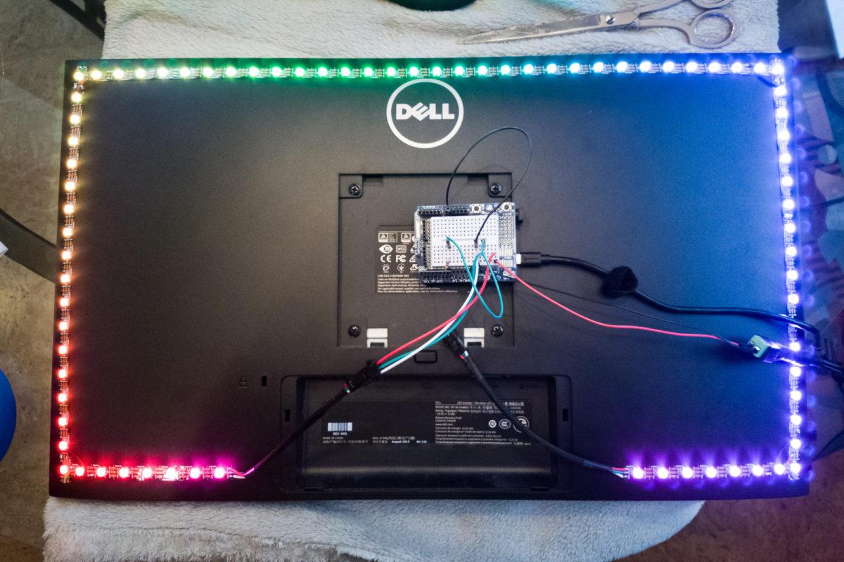 DIY Ambilight: Prepping the WS2812B Strip