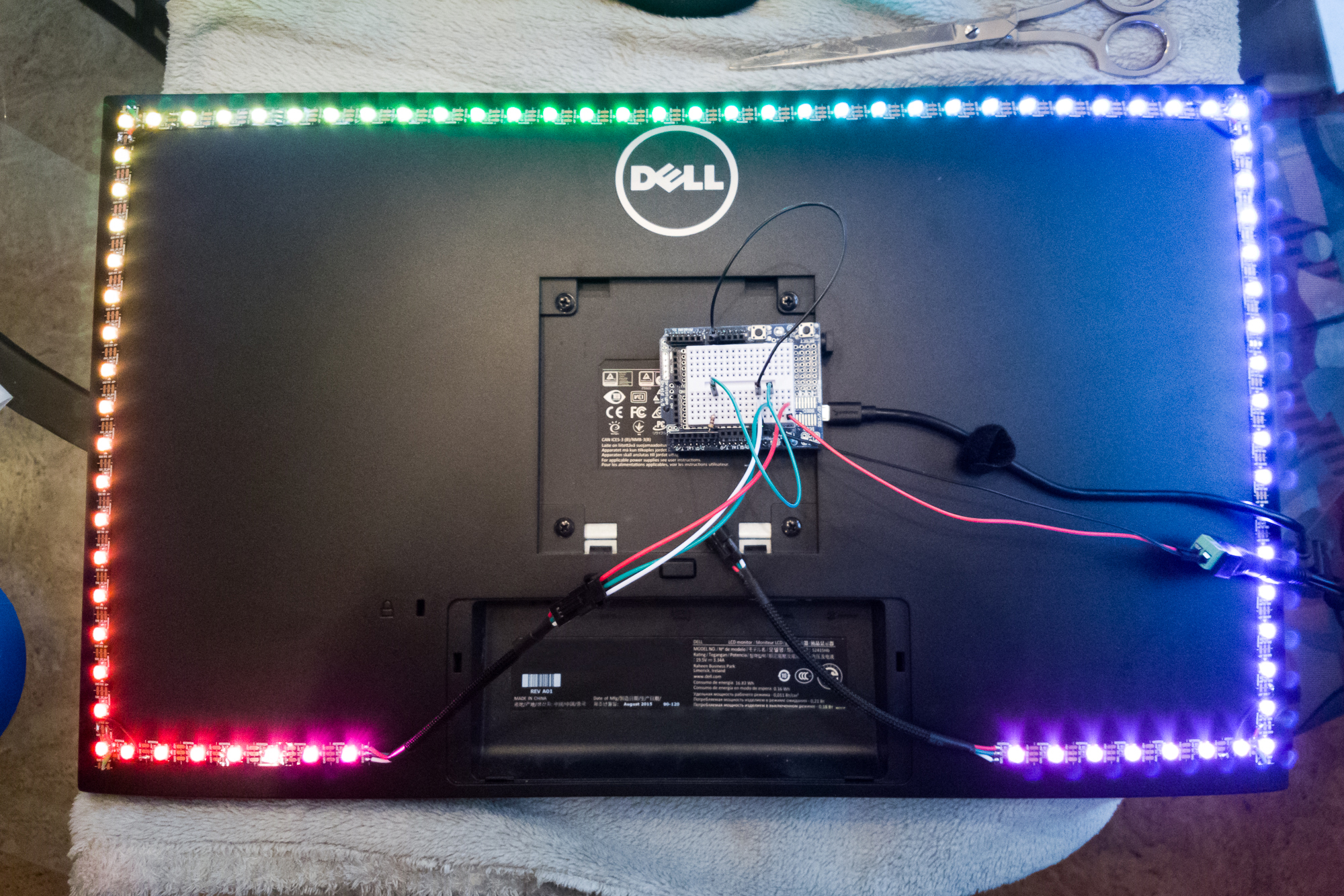 DIY Ambilight: Prepping the WS2812B Strip