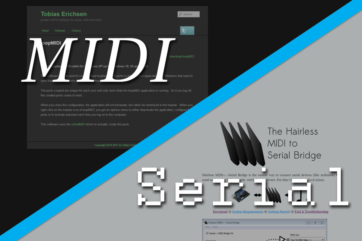 How to Send and Receive MIDI Messages Over Serial