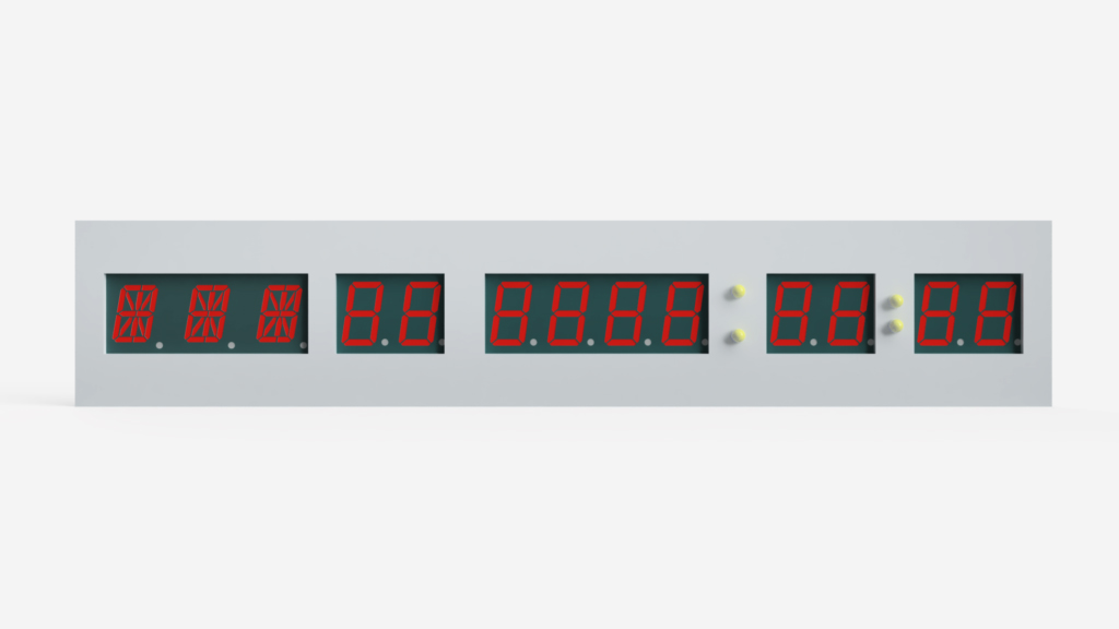 Dimensioning the Time Circuit Display Faceplate
