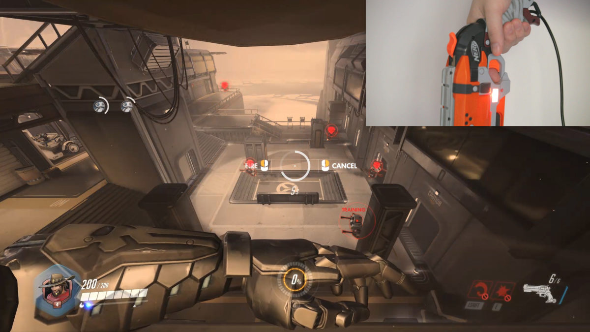 McCree Hammershot Controller: Demonstrations and Playtesting