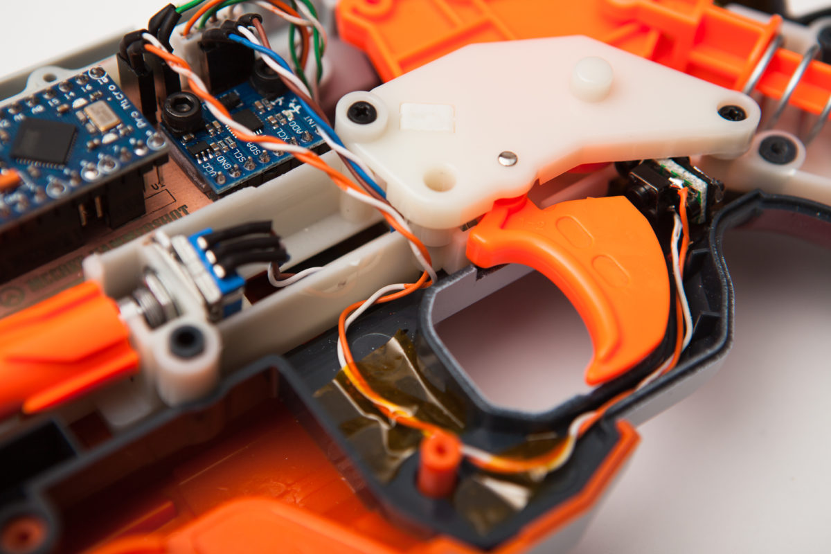 McCree Hammershot Controller: Wiring and Final Assembly