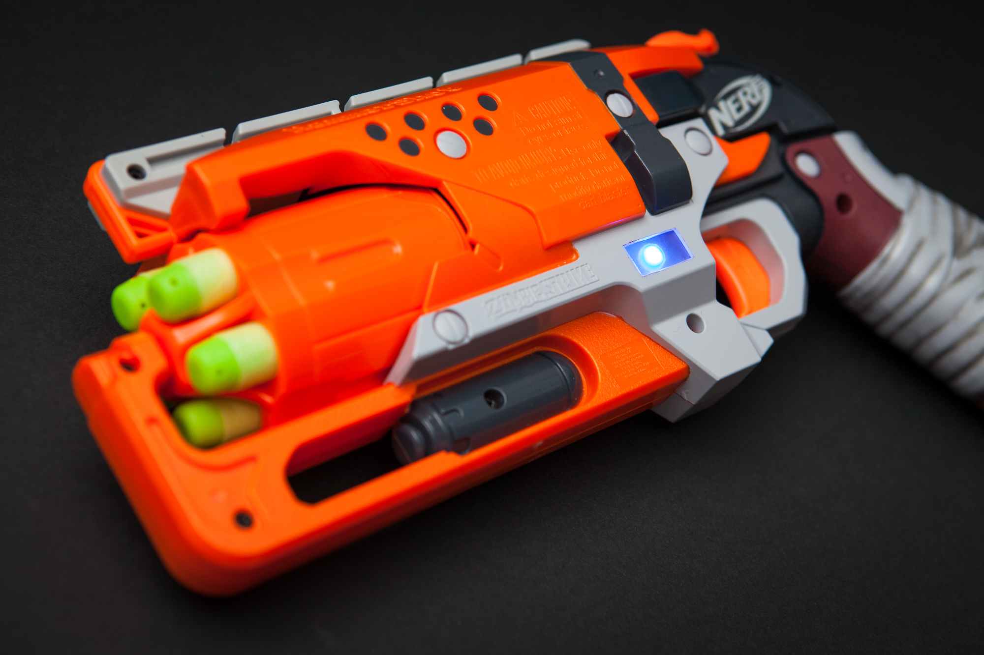 McCree Hammershot Controller: RGB LED and Capacitive Touch