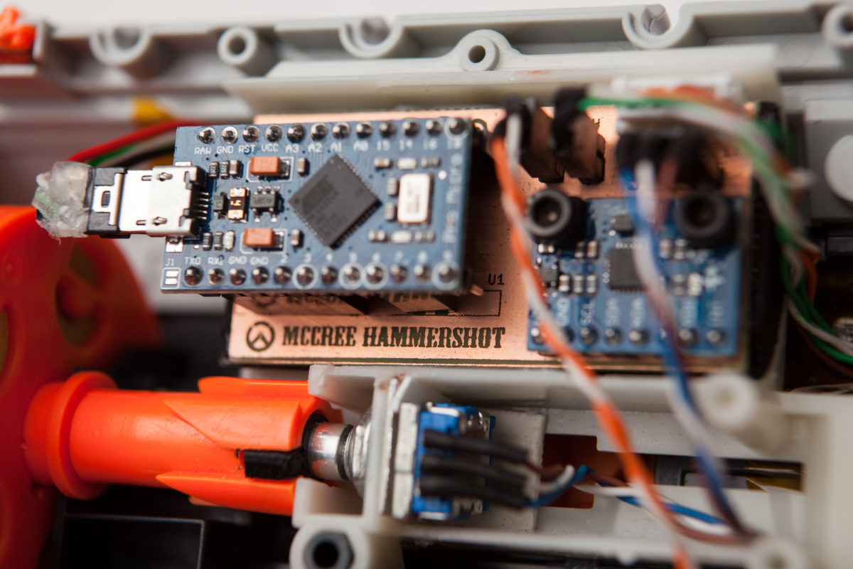 McCree Hammershot Controller: Custom PCB