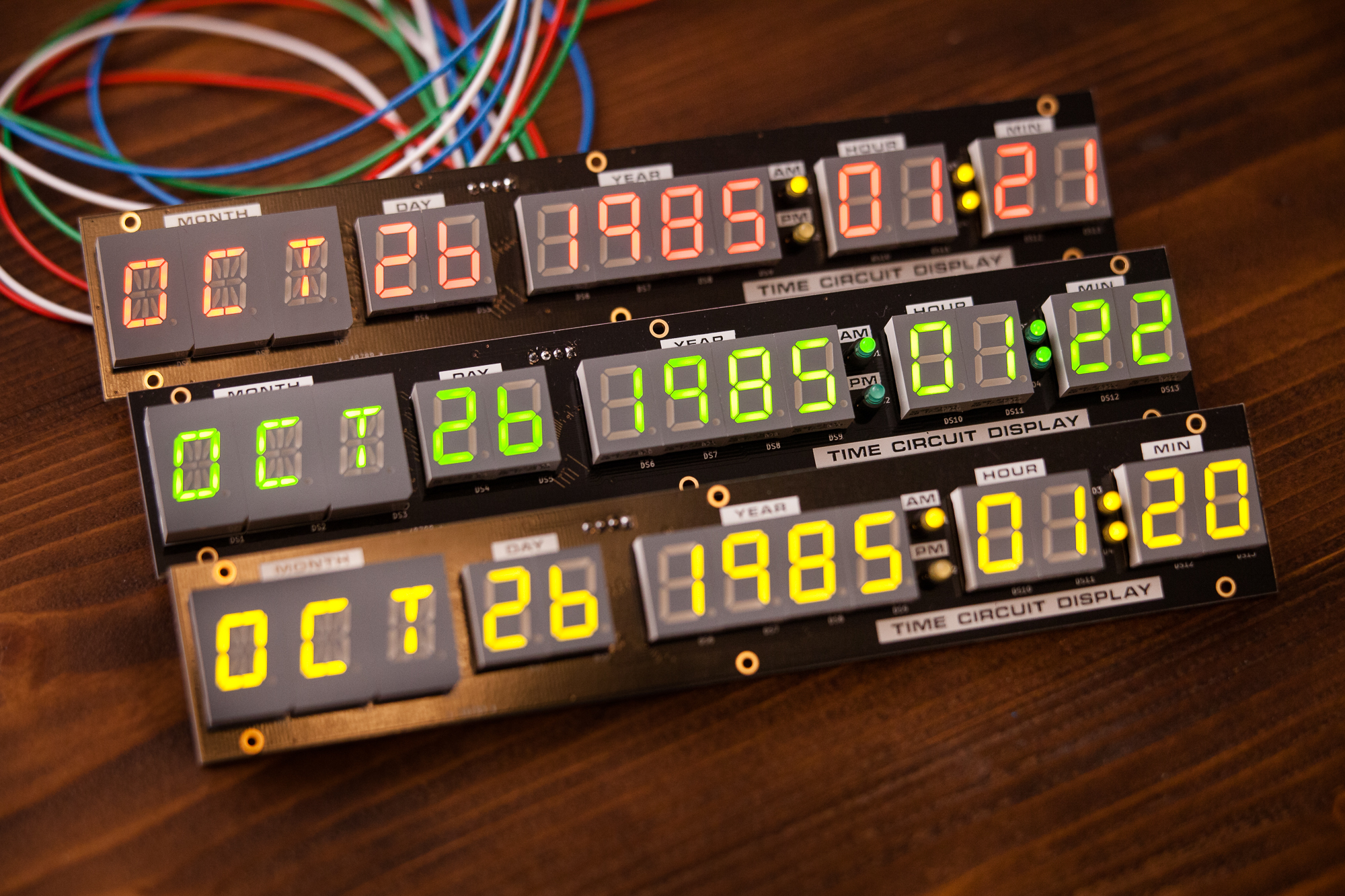 Back to the Future Time Circuits