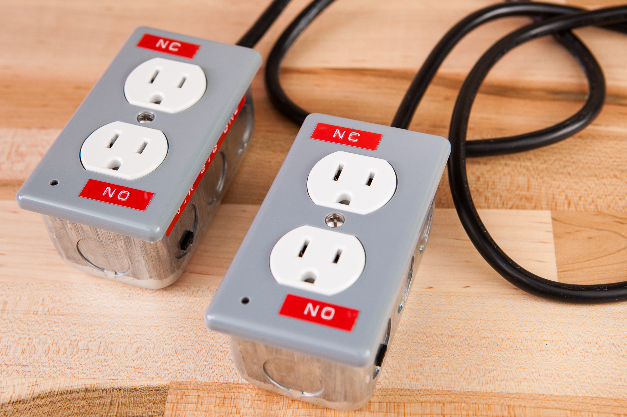 Relay Boxes for Controlling 120V Power with a Microcontroller