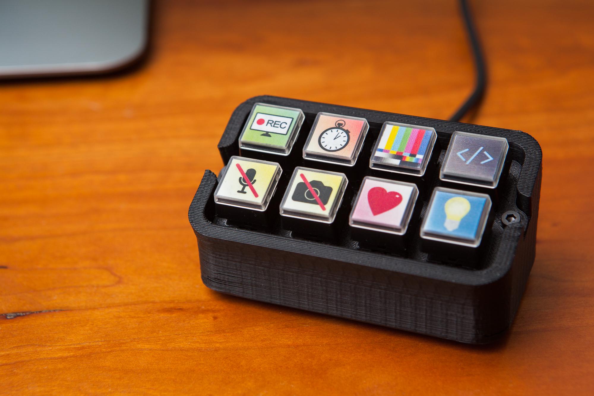 Building a diy stream deck mini macro keyboard parts