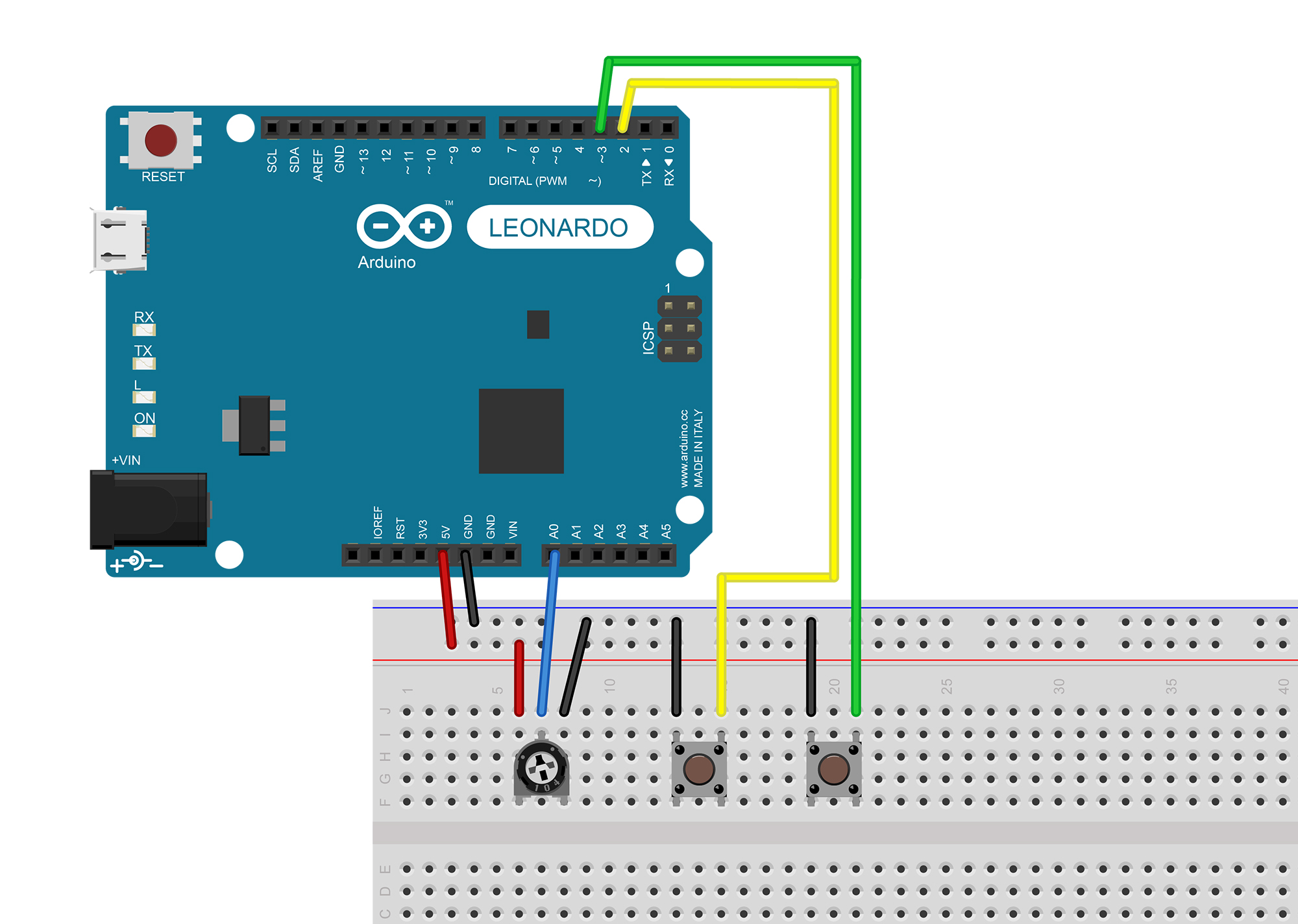 How to Emulate an Xbox Controller with Arduino (XInput) - Parts Not