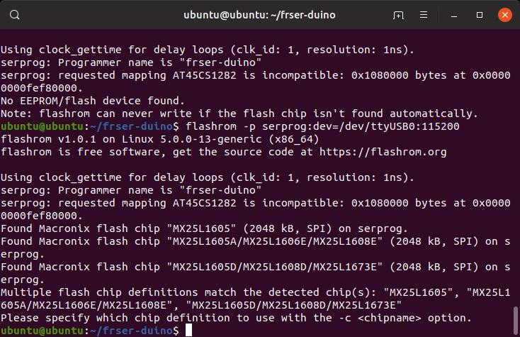 Flashing the BIOS to Fix a