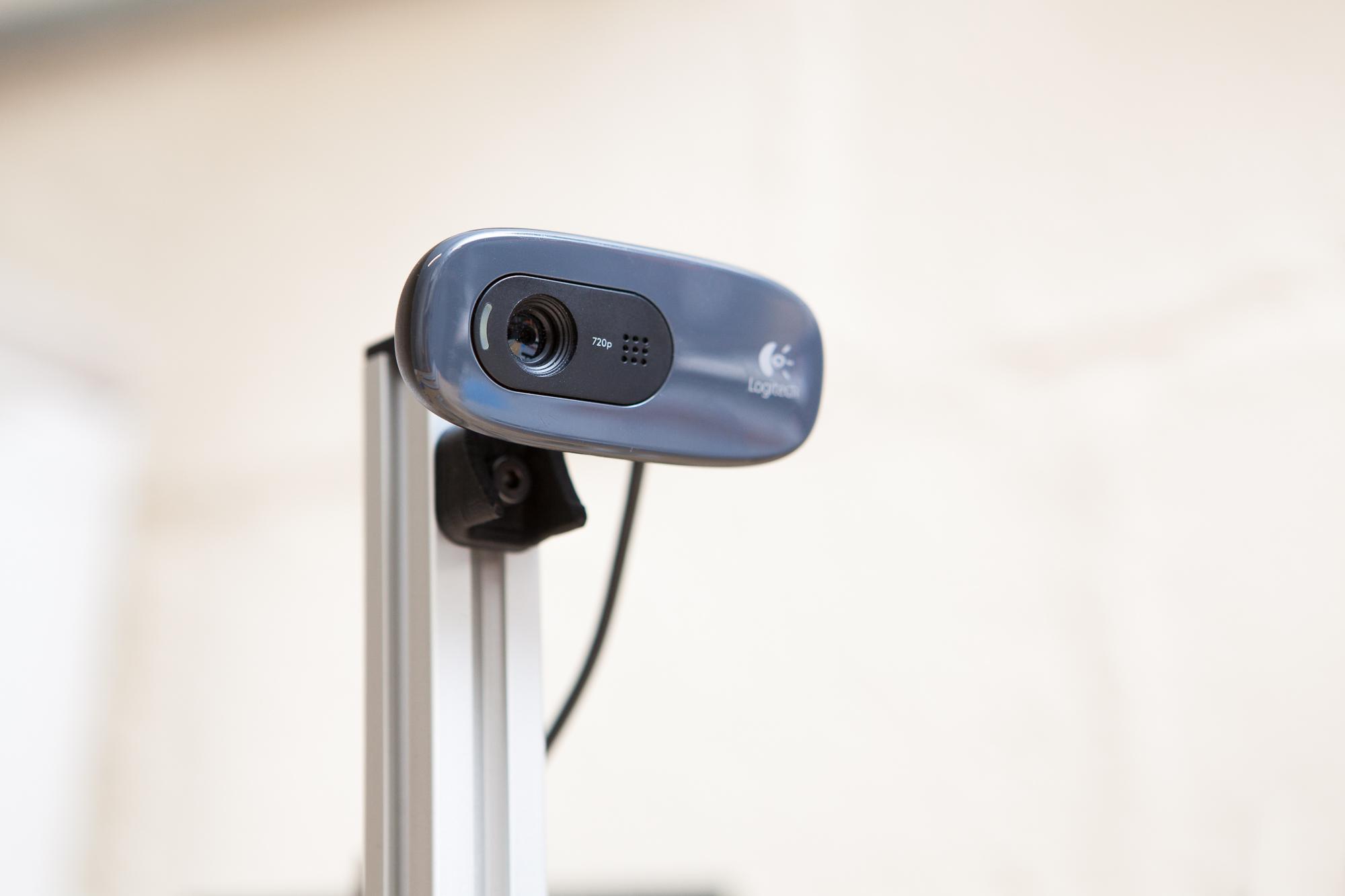 Logitech C270 Webcam Mount for 2020 Extrusion